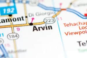 Arvin-CA-Map