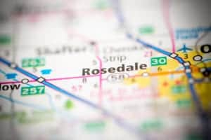 Rosedale-CA-Map