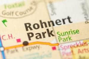 Rohnert Park Map